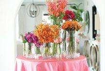 FLOWER ARRANGEMENTS / by Megan Marshall - InThisWonderfulLife.com