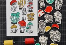 Hand-carved Stamps Ideas