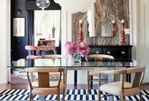 Dining Rooms / May your surroundings be as inspiring as what's on your plate.