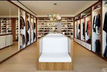 Closets & Dressing Rooms / Dressing rooms to die for.