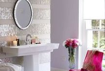 abode//bathrooms / by Larissa Steward