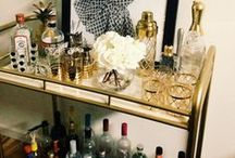 abode//bar carts / by Larissa Steward