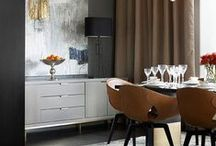 kitchens & dining areas / Cozy places to cook and eat.