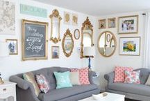 Best Walls Ever / Ideas for displaying photographs at home. / by Samantha Shannon