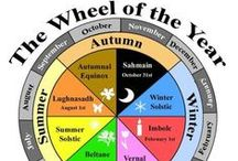 Wheel of the Year / Following the cycles of the seasons and the sacred times we celebrate