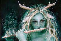 Goddesses / The divine feminine, around the world and across time