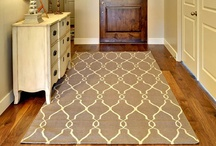 Rug Love. / You should love what's under your feet just as much as what you see when you look forward. Rugs bring new life to a room and in most cases, ground a room and make it feel completely different... / by Ally - homebyally.blogspot.com