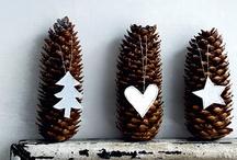 Weihnachten / Dekoration & Ideen für eine gedeckte Weihnachtstafel