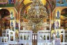 Inside of Orthodox churches - Works of religious art / https://www.facebook.com/lifethinktravel