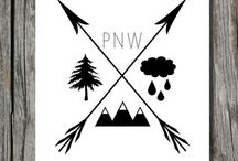 pacific nORthwest / by Allyson Clifton