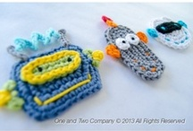 Crochet Embellishments: Boys / Did you find your little guy the perfect hat, blanket or scarf but it doesn't quite scream BOY? Pick something out here and I'll add it to any item of your choice. / by Heap of Giggles