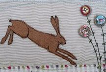 Hares & Graces / Hoppy Hares in all their glory..... be it in photo or art form. (and the odd rabbit)