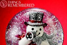 'Tis The Season / There's nothing like a homemade holiday! We love these simple ways to personalize your celebrations from engraved ornaments and photo frames to Christmas cookies and treats! / by Things Remembered