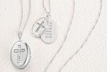 Gifts to Celebrate Faith / Support their lifelong spiritual journey with personalized gifts to mark their baptism, first communion or confirmation, or to give a message of spiritual encouragement to a friend or loved one. Engrave their name, the date and a beloved Bible verse to create a one-of-a-kind gift made just for them. / by Things Remembered