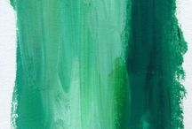•Green•