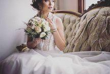 Vintage Brautkleid / Zauberhafte Brautkleider und Hochzeitskleider für die Boho und Vintage Wedding Hochzeit .Maßgefertigt am Ammersee