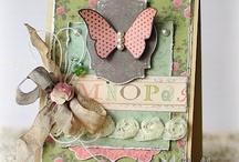 """Paper - Cards / """"Beetje"""" inspiratie voor kaarten :) :)  / by Marjolein Wobbema"""