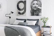 INTERIOR | bedroom / #design // #interior // #bedroom