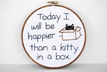 Cats in Boxes, Baskets & Bags / by Kimberley Jumper