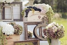 Photo Frames for Weddings / Creative ways to use photo frames on your wedding day.
