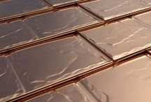 Solid Copper Roofing / A premium option from our product line. A real copper roof to make your home truly stand apart!