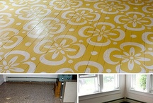 Painted FLOOR Ideas / by Michele Landry Holt
