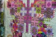 Quilting / fabric creations that hug / by Donna C