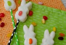 Easter Ideas / Easter crafts, basket ideas, and food!