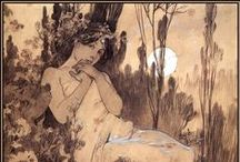 Alphonse Mucha / by all about the cozy