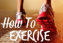 Getting Fit / Weight loss tips and motivation, fitness advice, and everything you need to get started being more active / by Kecia (Southern Girl Ramblings)