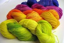 knitting and dyeing / by Donna C