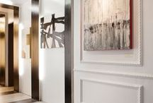 foyer, corridor, hall / entrance foyer, hall, corridor, gang, hal / by Ellen Hoogveld