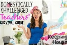 Cleaning House / Tips, tricks, and inspiration for the domestically challenged.  House cleaning, Shortcut cleaning tips, Housekeeping Schedules, Cleaning Routines, Homemade Cleaning Products, and more!