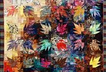 Scrap quilts & colour studies / Scrap quilting is more about colour and choices, that using up scraps.  The study of COLOUR is the most important aspect to enjoying quilting no matter what type.   / by Donna C
