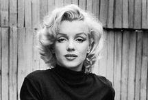   Marylin Monroe   / LOVE HER <3  / by Cassandra Galan