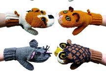 Mitten love / knitted mittens / by Donna C