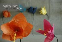 Paper flower / Making beautiful, colorful paper flowers