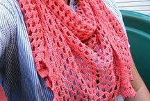 Crochet - roupas e acessórios pessoais / Blusas, agasalhos, cachecóis...