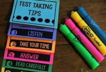 Test Treats and Strategies / Tips, Tricks, Strategies and Motivators for Test Review, Test Prep, Standardized Testing in Elementary, Primary, and Middle Grades.