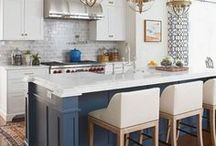KITCHEN IDEAS / A collection of our favorite kitchen ideas! Grab tips and tricks to create your dream kitchen! Curated by Rebekah Dempsey of A Blissful Nest. https://ablissfulnest.com #kitchen #kitchenideas