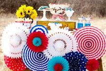 4TH OF JULY PARTY IDEAS / 4th of July party ideas and decor. Recipes, free printables, etc. / by A BLISSFUL NEST | ABLISSFULNEST.COM