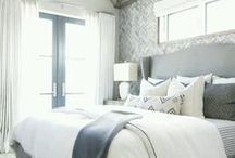 BEDROOM IDEAS / A collection of our favorite bedroom ideas! Grab tips and tricks to create your dream bedroom! Curated by Rebekah Dempsey of A Blissful Nest. https://ablissfulnest.com