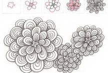 zentangles and doodles / by Manon Ruel