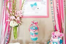 BABY SHOWER IDEAS / Beautiful baby shower ideas and decorating found via Rebekah Dempsey at https://ablissfulnest.com.