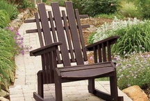 Outdoor Furniture / Uwharrie Chair products offer eco-friendly all-weather seating, classically styled, comfortably designed outdoor accents. With their rugged good looks and solid construction, the chairs and their companion pieces provide a balance of aesthetic charm and lifestyle integrity.