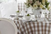 Dining Spaces / Dining Room Inspiration and Decorating Ideas