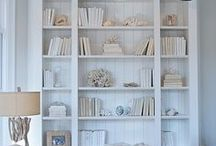 LIBRARY IDEAS / A collection of our favorite library ideas! Grab tips and tricks to create your dream library! Curated by Rebekah Dempsey of A Blissful Nest. https://ablissfulnest.com