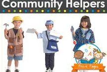 ♥ The Oak Tree : Pre-K  Community Helpers Theme / by Lee Scott  ✿⊱╮