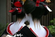 Japanese nihongami hair / Japanese classic hair