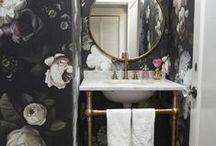 Badkamer / inspiratie voor kleine badkamer